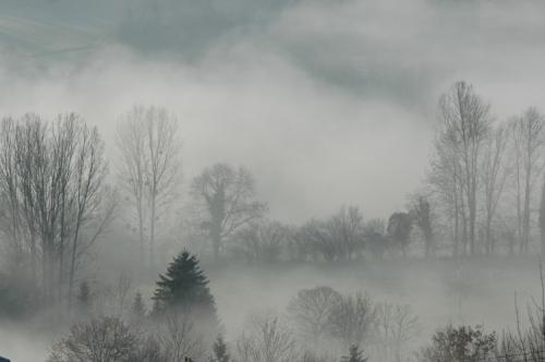 nuages sur la Chartreuse