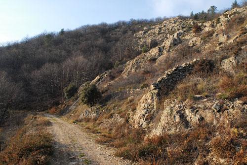 L'hiver dans la montagne ardèchoise